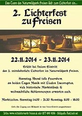 Lichterfest in Freisen  2014 - Wildtierpark