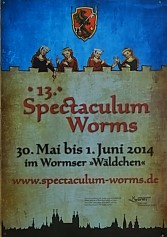 Spectaculum Worms 2014