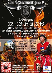 2. Germares 2016 - Mittelaltermarkt Germersheim - Feuershow Fire of Dragon
