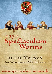 Spectaculum Worms 2018 - Feuershow von NANU-Traumtheater